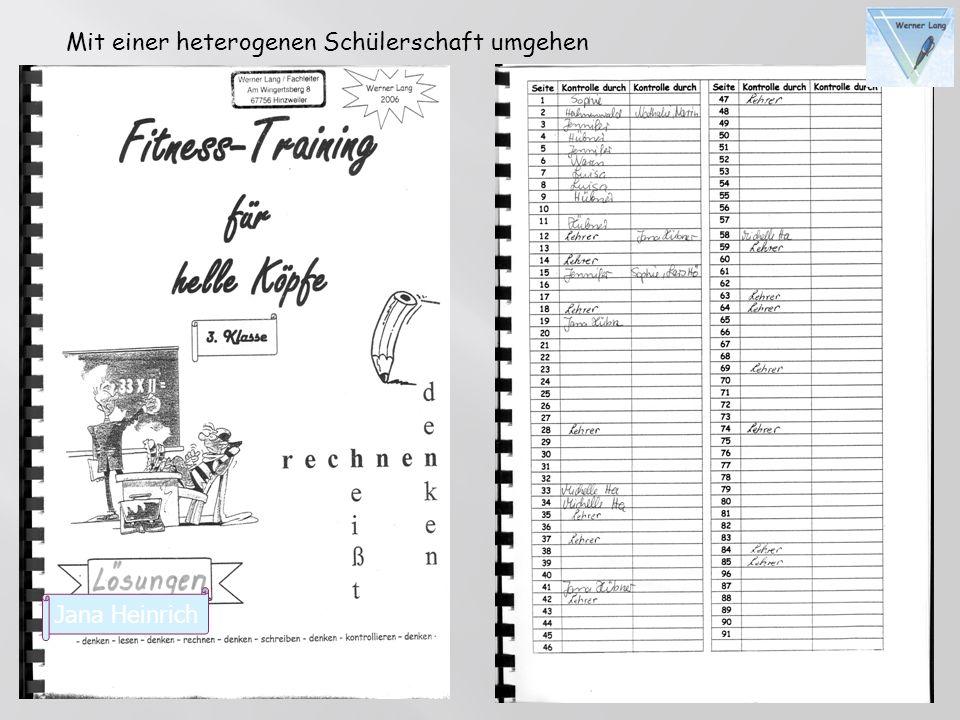 Jana Heinrich Mit einer heterogenen Schülerschaft umgehen