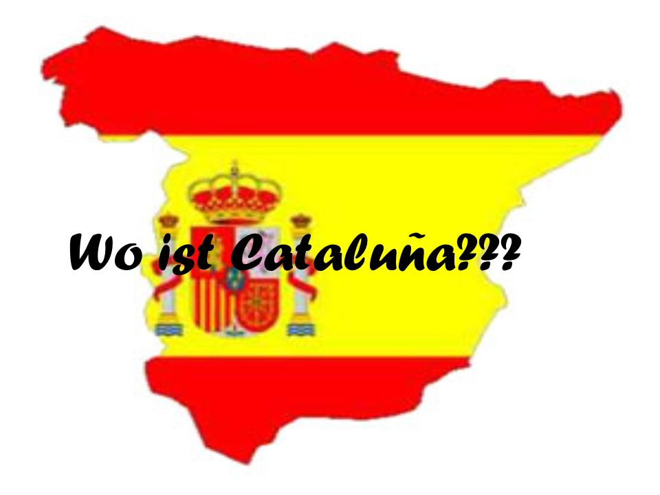 Wo ist Cataluña???