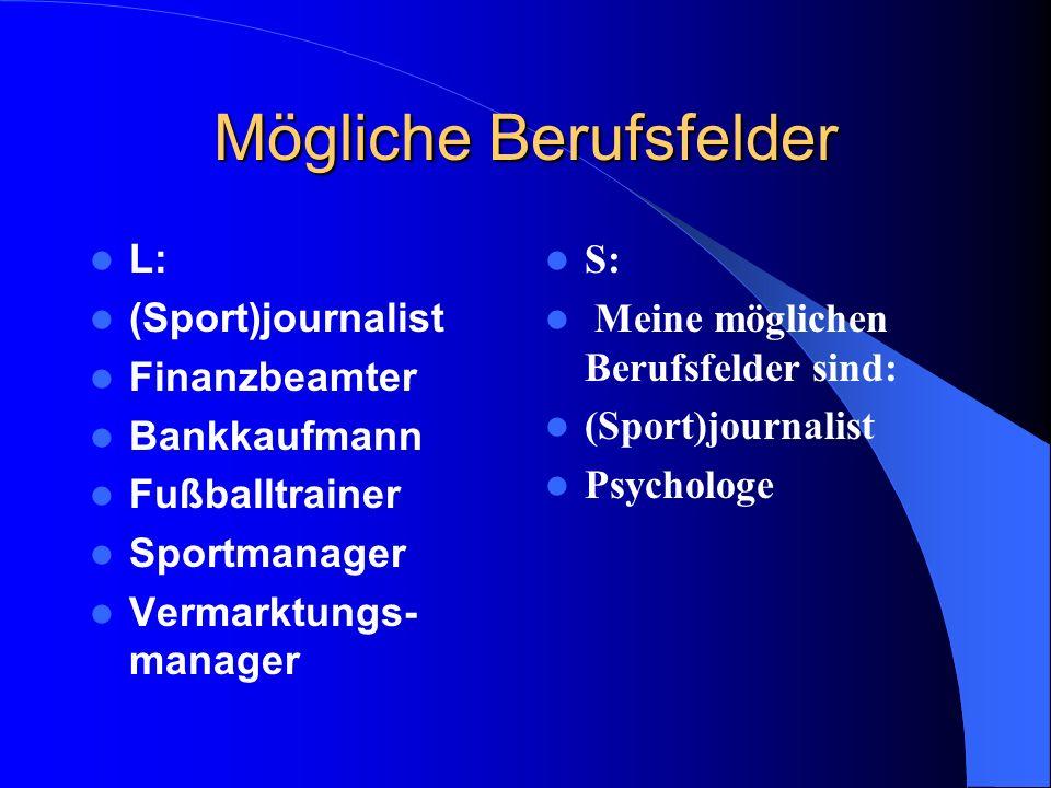 Steckbrief Name: XXXXX Vorname: L Geburtsdatum: *1989 männlich Schule:Goethe Gymnasium Interessen (Hobbies): Sport (besonders Fußball), Musik hören, s