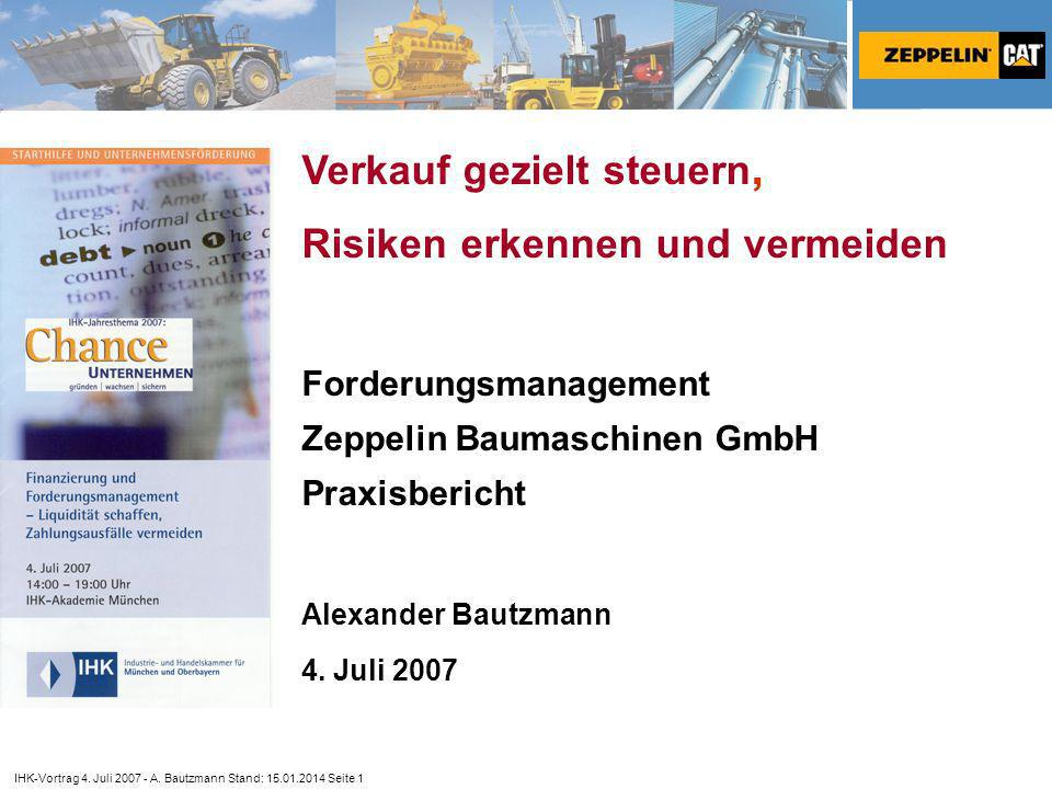 IHK-Vortrag 4.Juli 2007 - A.