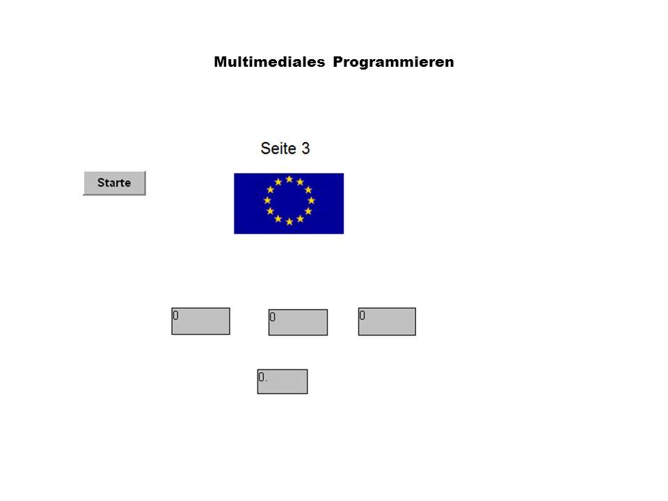 Multimediales Programmieren