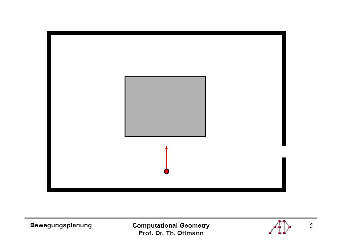 6 Bewegungsplanung Computational Geometry Prof.Dr.