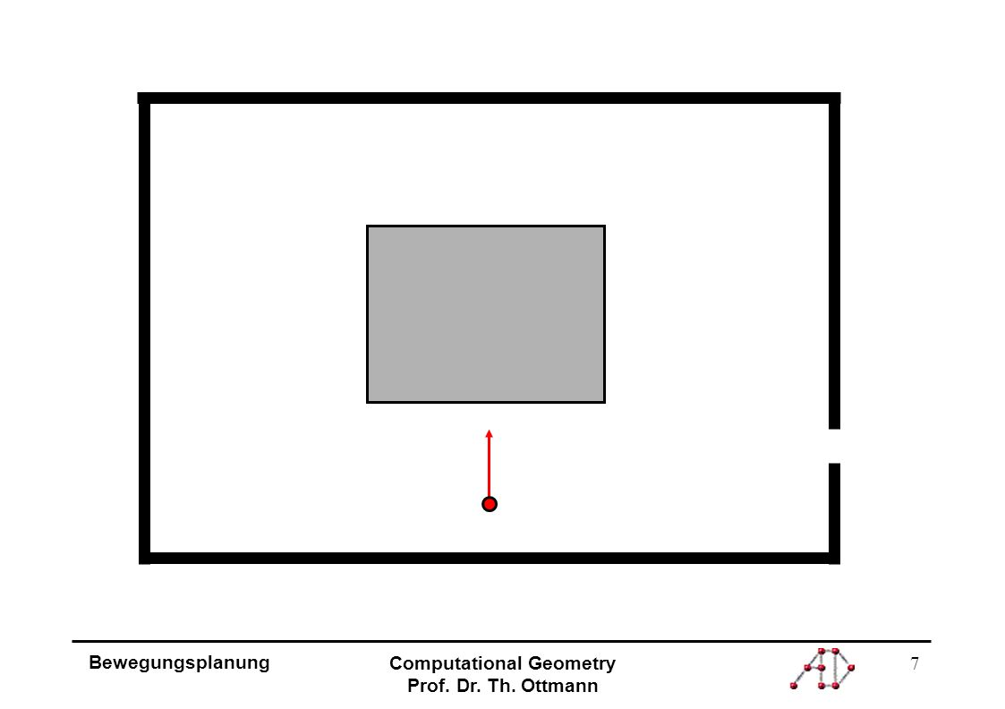 7 Bewegungsplanung Computational Geometry Prof. Dr. Th. Ottmann