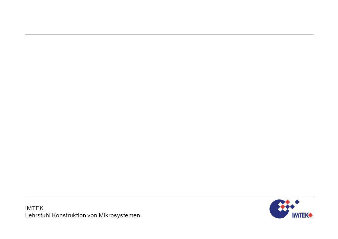 IMTEK Lehrstuhl Konstruktion von Mikrosystemen Technische Mechanik WS 2010/11 - Vorlesung Lagerungsarten / Folie 19 Freiheitsgrade und Lagerungsarten Präzisions-Linearlager mit Festkörpergelenken Nicht nur in der Mikrotechnik, auch in der Feinmechanik wird die hohe Präzision von Festkörpergelenken genutzt.
