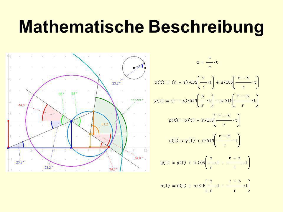 Mathematische Beschreibung