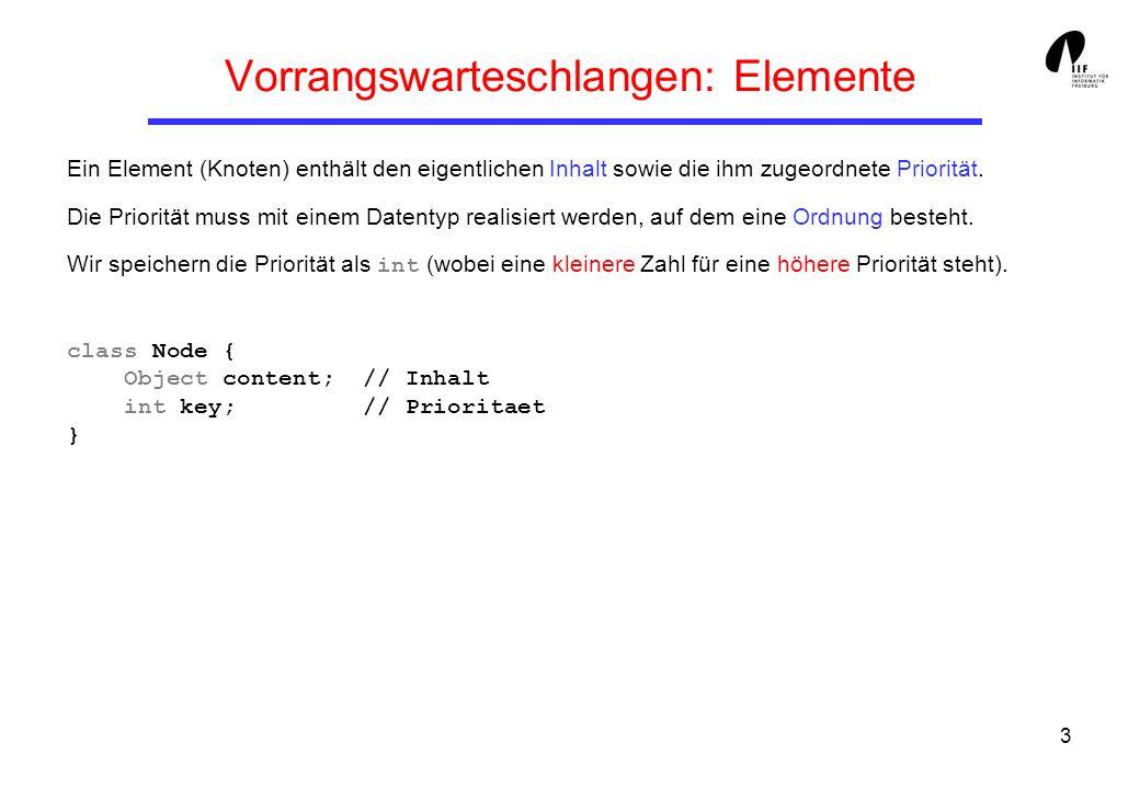 54 Berechnung von maxRank(n) Lemma 2: Sei N ein Knoten in einem Fibonacci-Heap und k = N.rank.
