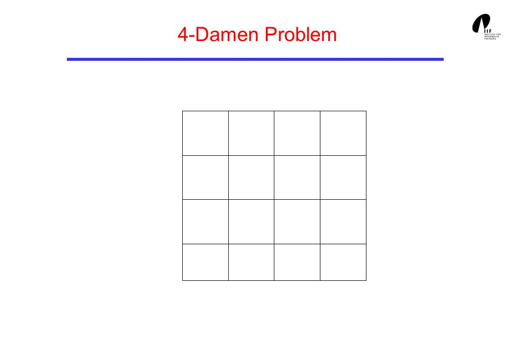 4-Damen Problem