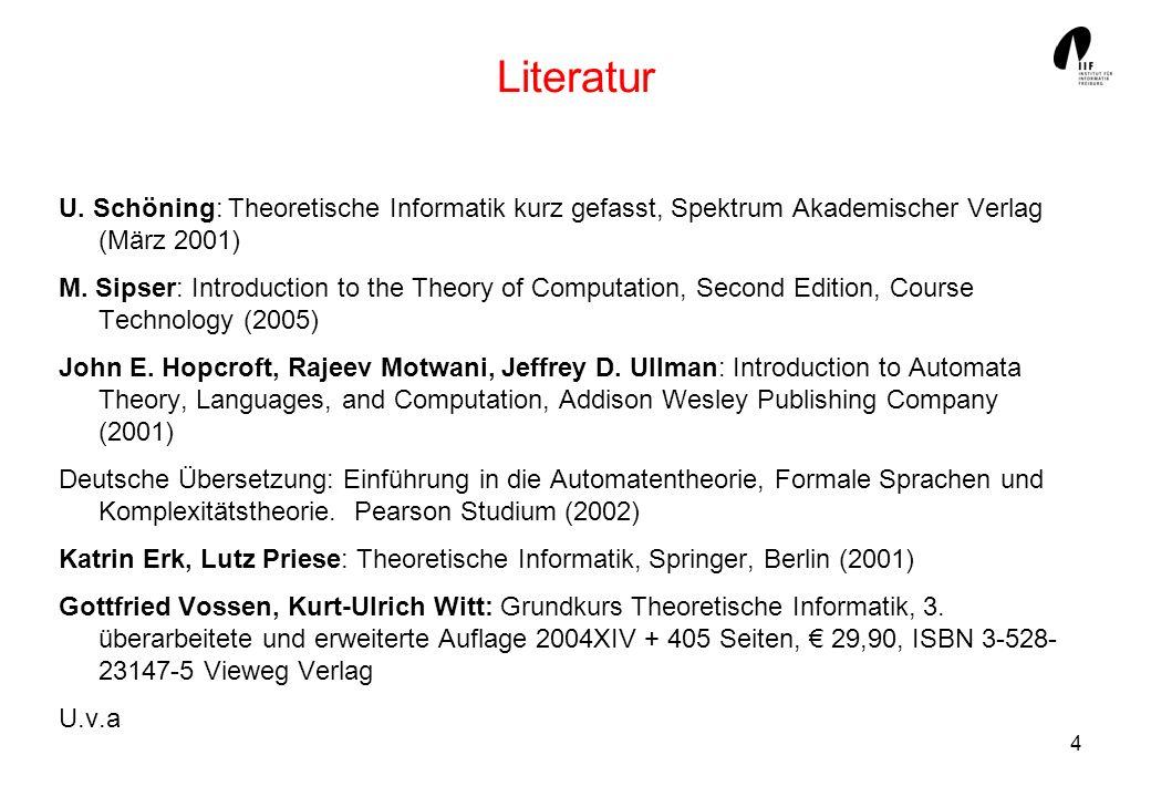4 Literatur U.