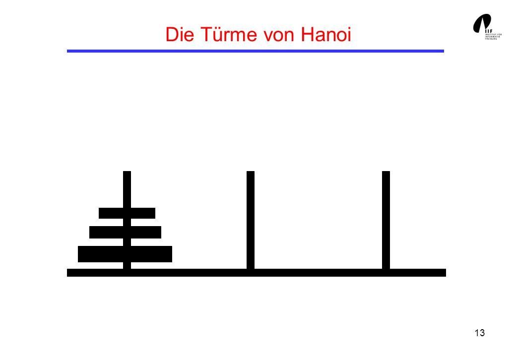 13 Die Türme von Hanoi