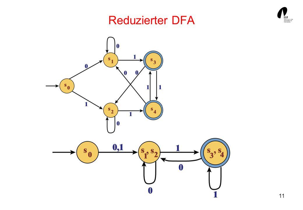 11 Reduzierter DFA