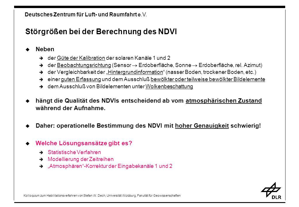 Deutsches Zentrum für Luft- und Raumfahrt e.V.Kolloquium zum Habilitationsverfahren von Stefan W.