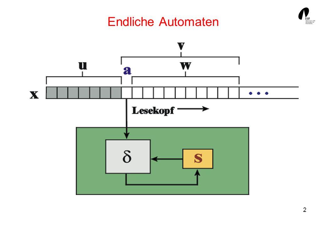 13 Deterministischer Automat für L(A r3n1 )