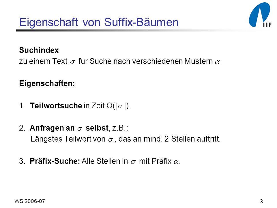 4WS 2006-07 Eigenschaft von Suffix-Bäumen 4.