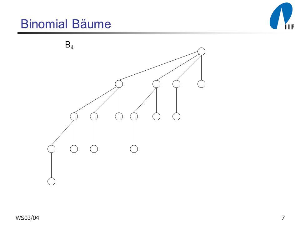 7WS03/04 Binomial Bäume B4B4