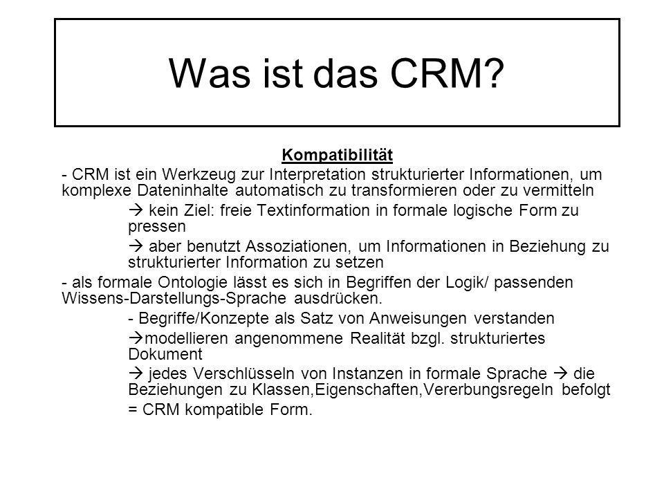 Was ist das CRM? Kompatibilität - CRM ist ein Werkzeug zur Interpretation strukturierter Informationen, um komplexe Dateninhalte automatisch zu transf