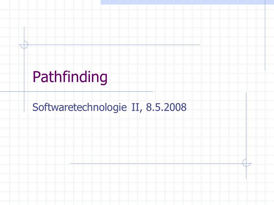 Pathfinding Softwaretechnologie II, 8.5.2008
