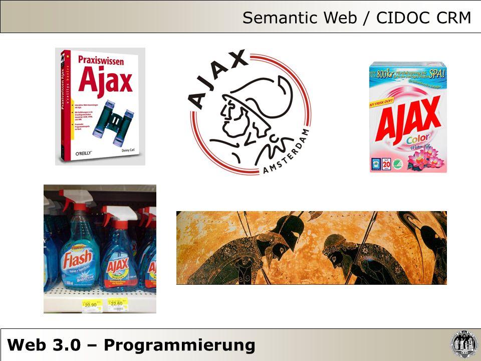 Semantic Web / CIDOC CRM Web 3.0 – Programmierung