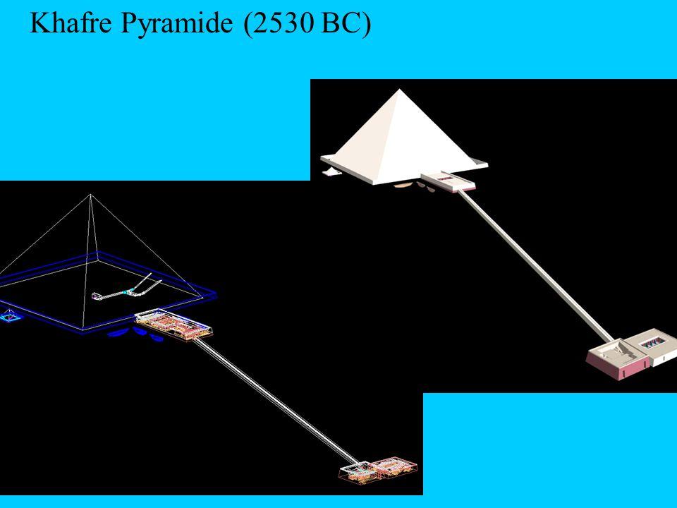 Khafre Pyramide (2530 BC)