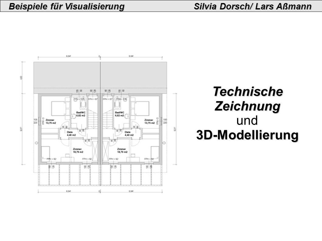 Technische Zeichnung und3D-Modellierung
