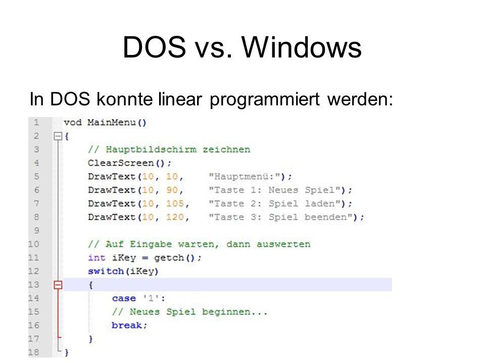 DOS vs.