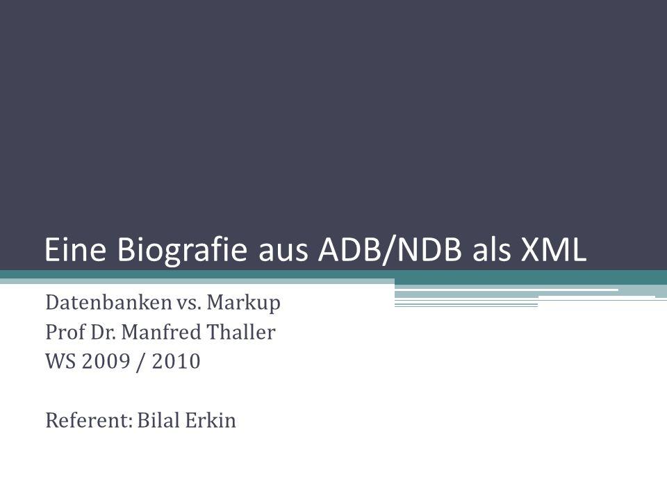 XML – (eXtensible Markup Language) Auszeichnungssprache zur Darstellung hierarchisch strukturierter Daten Namen der Elemente und Attribute sind frei wählbar Dateistruktur durch DTD oder XML Schema definierbar Heute: Metasprache in Text (TEI, XHTML), Grafik (SVG, X3D), Geodaten, Video (SMIL), Webservices (SOAP, WSDL), Datenbanken (Xquery) … 2