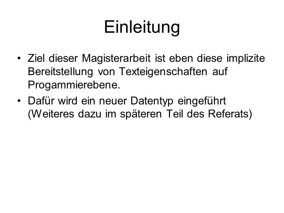 Allg.Anforderungen an Textkodierung 1.
