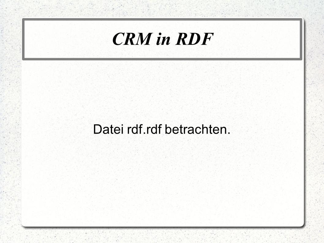 RDF Schema RDF Schema ist eine semantische Erweiterung von RDF.