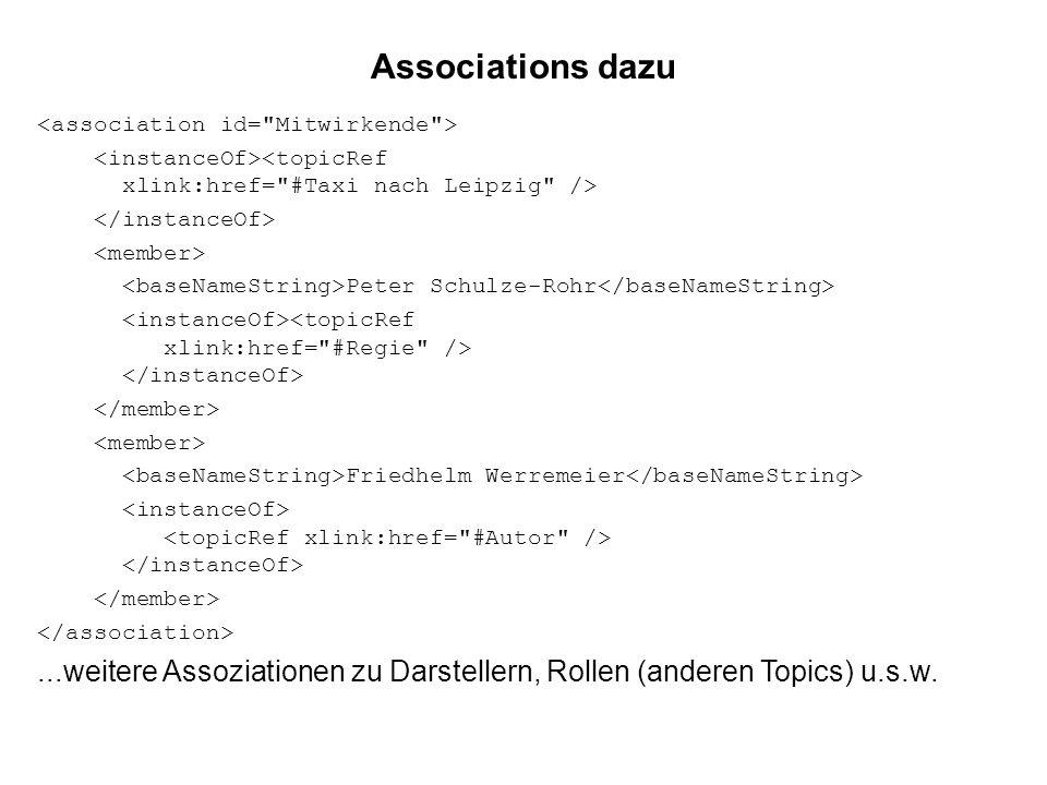 Associations dazu Peter Schulze-Rohr Friedhelm Werremeier...weitere Assoziationen zu Darstellern, Rollen (anderen Topics) u.s.w.