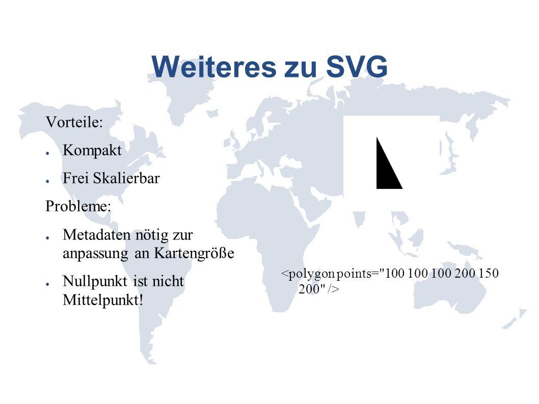 Geographische Koordinaten Koordinaten werden durch Längen und Breitengrad Dargestellt Bsp.: Länge 98,6° Breite 7.183333° Alle Orte auf der Erde können damit eindeutig Referenziert werden Webstandard bei den meisten Dititalen kartensystemen