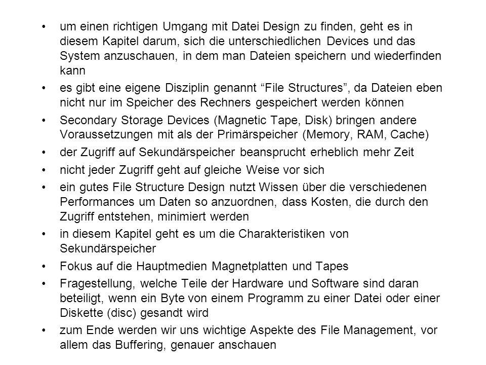 um einen richtigen Umgang mit Datei Design zu finden, geht es in diesem Kapitel darum, sich die unterschiedlichen Devices und das System anzuschauen,