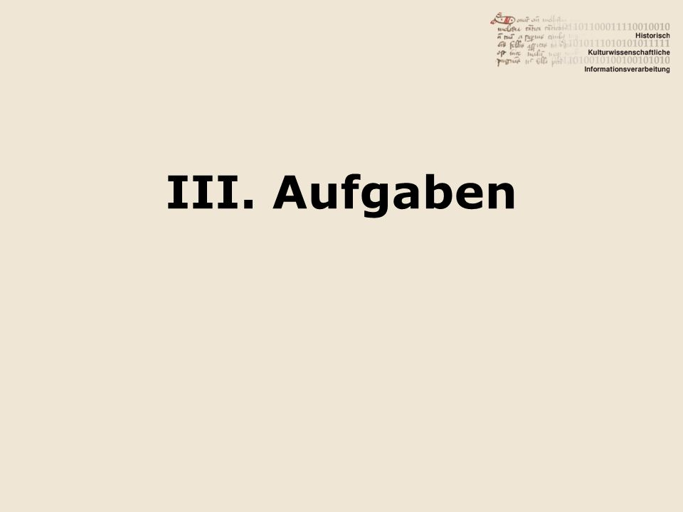 Aufgabe 1 10 1.Fundamental file processing 2.Abstraction from C => C++ Referenztext: Chapter 2, p.