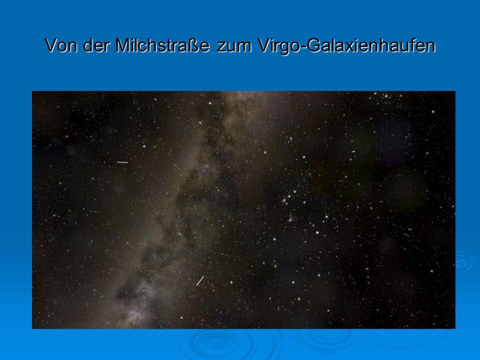 Von der Milchstraße zum Virgo-Galaxienhaufen