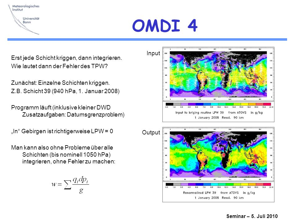 Seminar – 5.Juli 2010 OMDI 4 Erst jede Schicht kriggen, dann integrieren.
