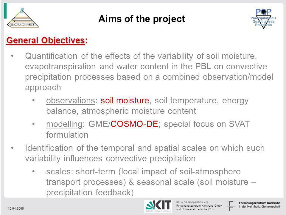 10.04.2008 KIT – die Kooperation von Forschungszentrum Karlsruhe GmbH und Universität Karlsruhe (TH) Quantification of the effects of the variability