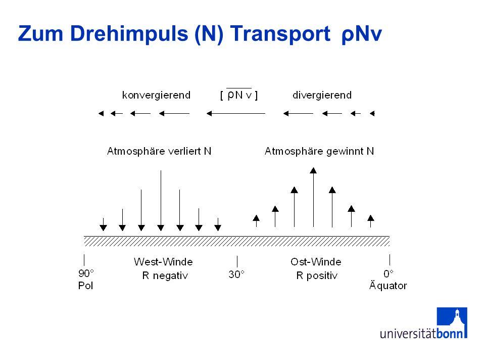 ρ Zum Drehimpuls (N) Transport ρNv