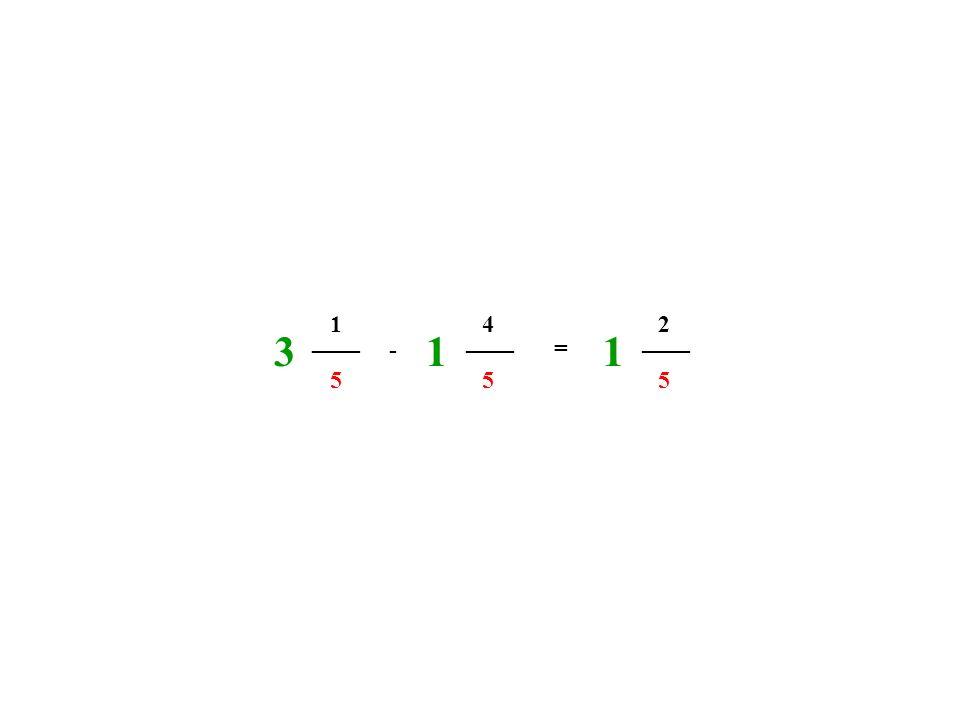 ____ 5 1 5 4 - = 2 5 311