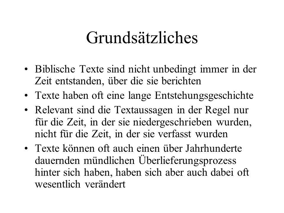Modell zur Entstehung des Pentateuch J.Wellhausen/W.H.