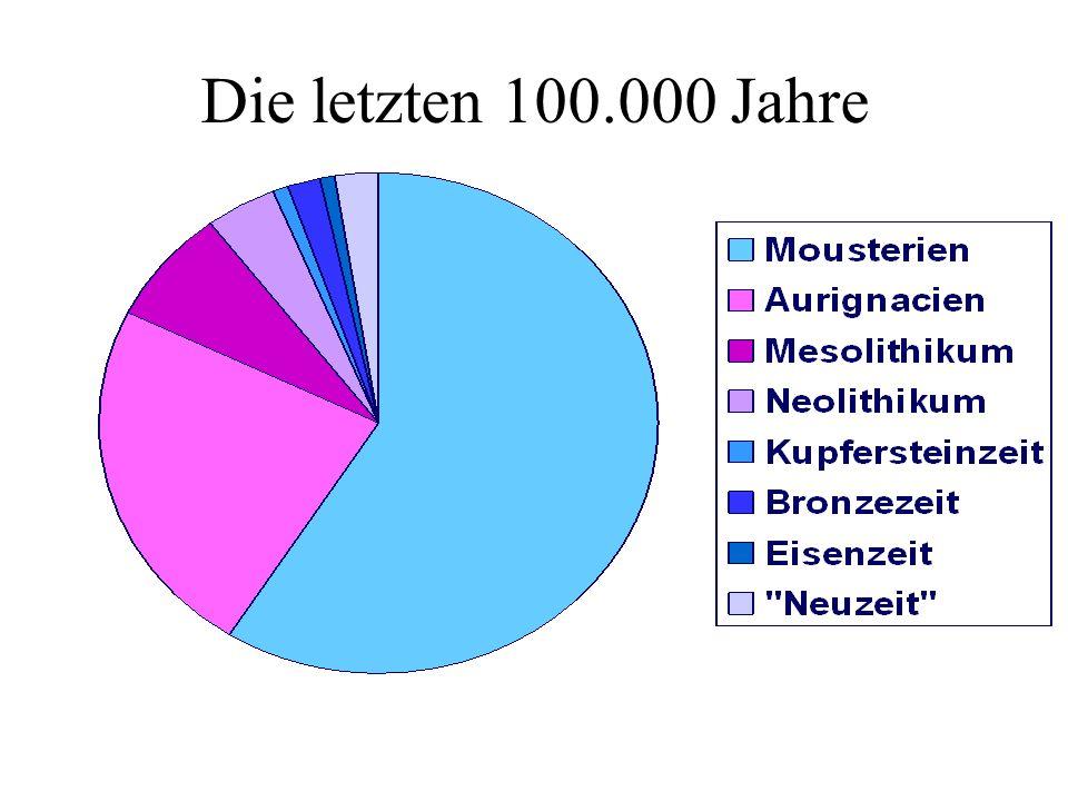 Die letzten 100.000 Jahre