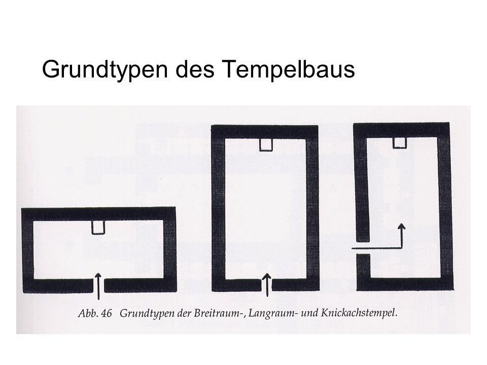 Grundtypen des Tempelbaus