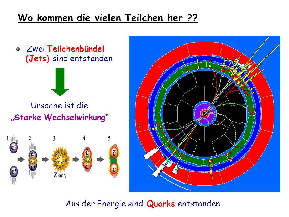 Wo kommen die vielen Teilchen her ?.
