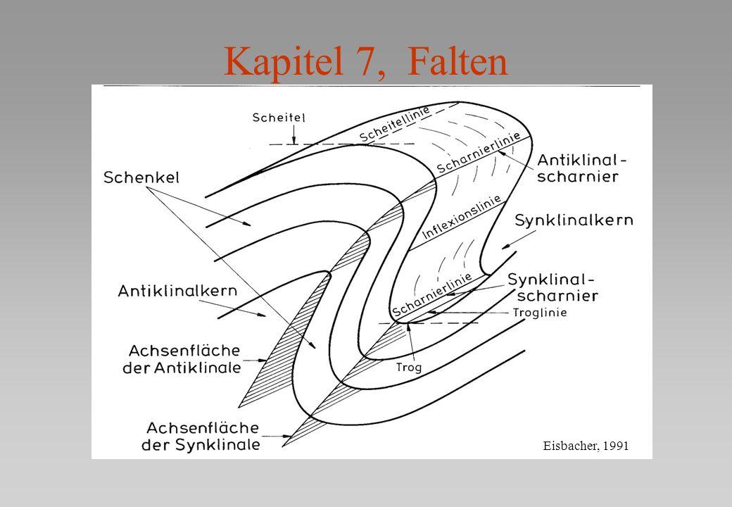 Antiklinale (Sattel): aelteres im KernSynklinale (Mulde): juengeres im Kern Antiform, Synform haben die Form von Anti bzw.