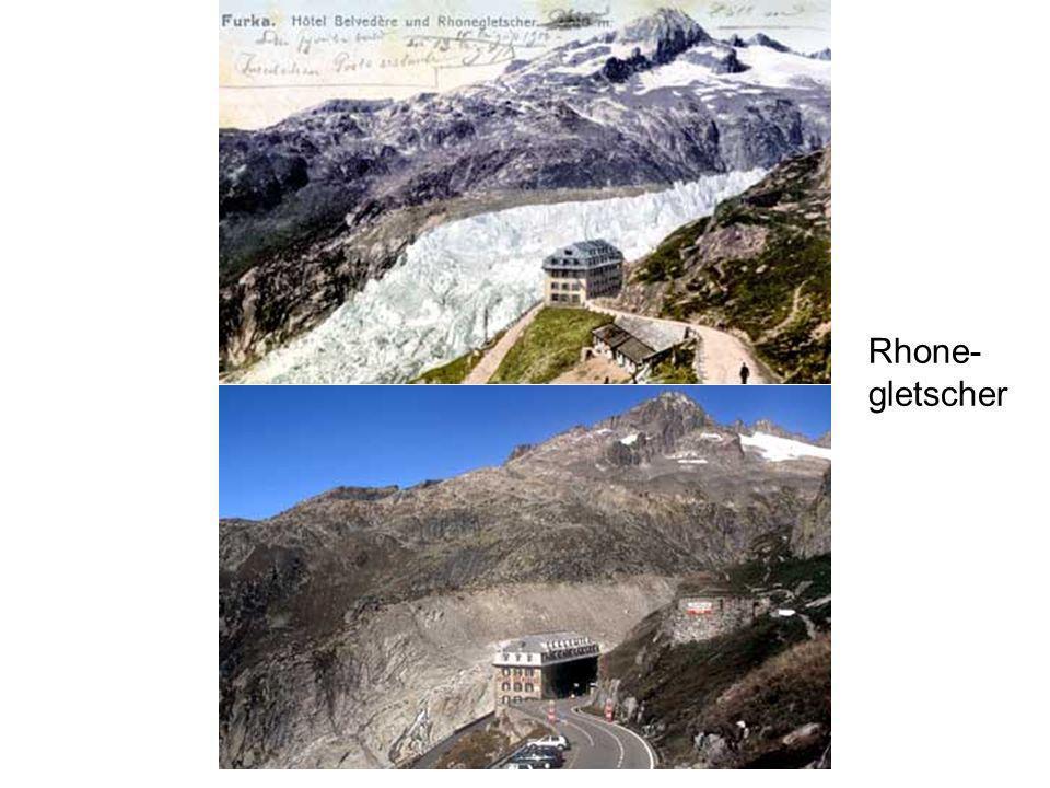 Rhone- gletscher