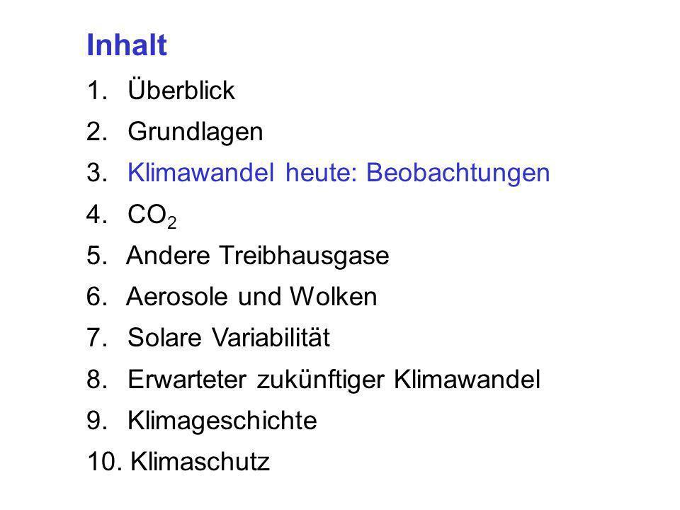 Trenberth, Science, 2005: Anstieg der SST
