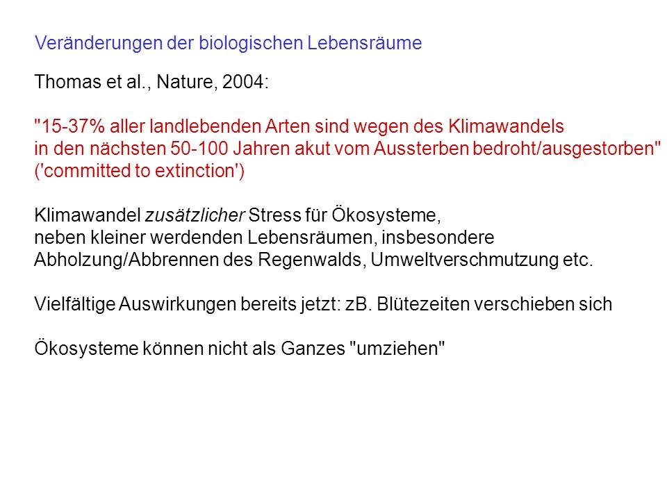 Thomas et al., Nature, 2004: