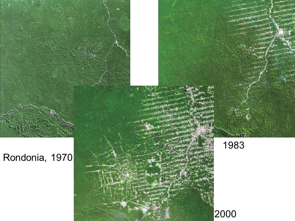 Rondonia, 1970 1983 2000