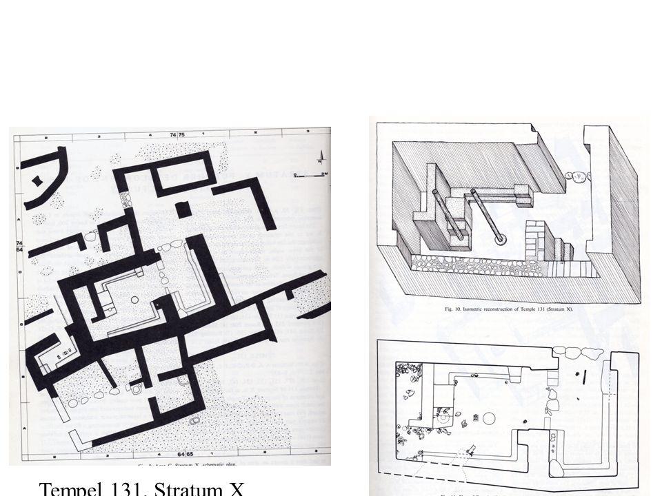 Tempel 131, Stratum X
