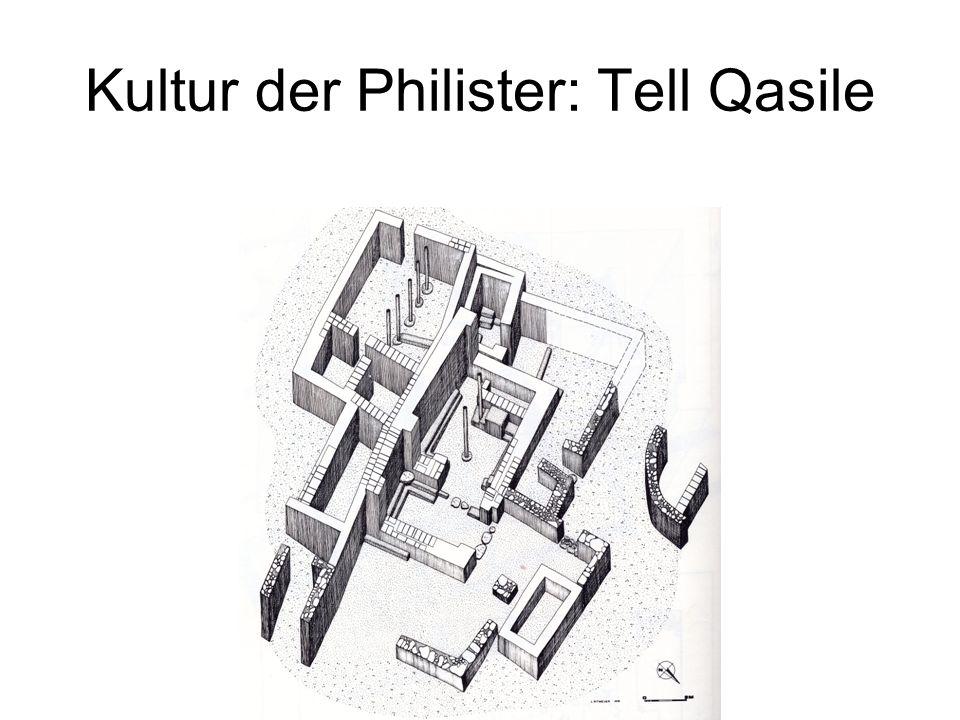 Kultur der Philister: Tell Qasile