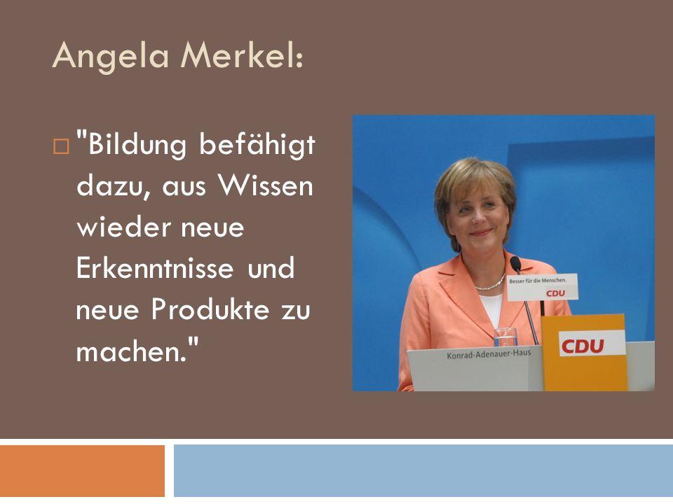 Künftige Rolle der Bildung - Ehrgeizige Ziele - Wissensgut als Wirtschaftsfaktor - Bildung verbindet KLAUS KAISER MdL www.kaiser-cdu.de