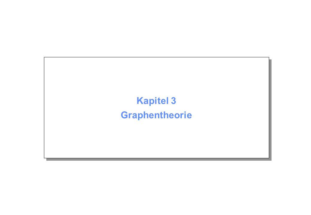 Kapitel 3 Graphentheorie
