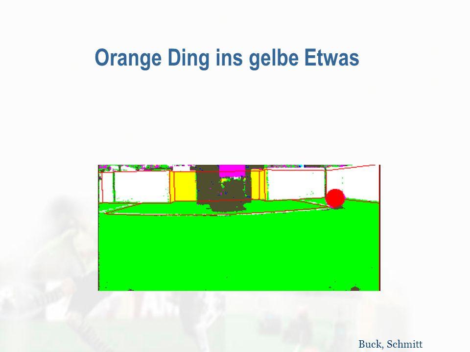 Orange Ding ins gelbe Etwas Buck, Schmitt